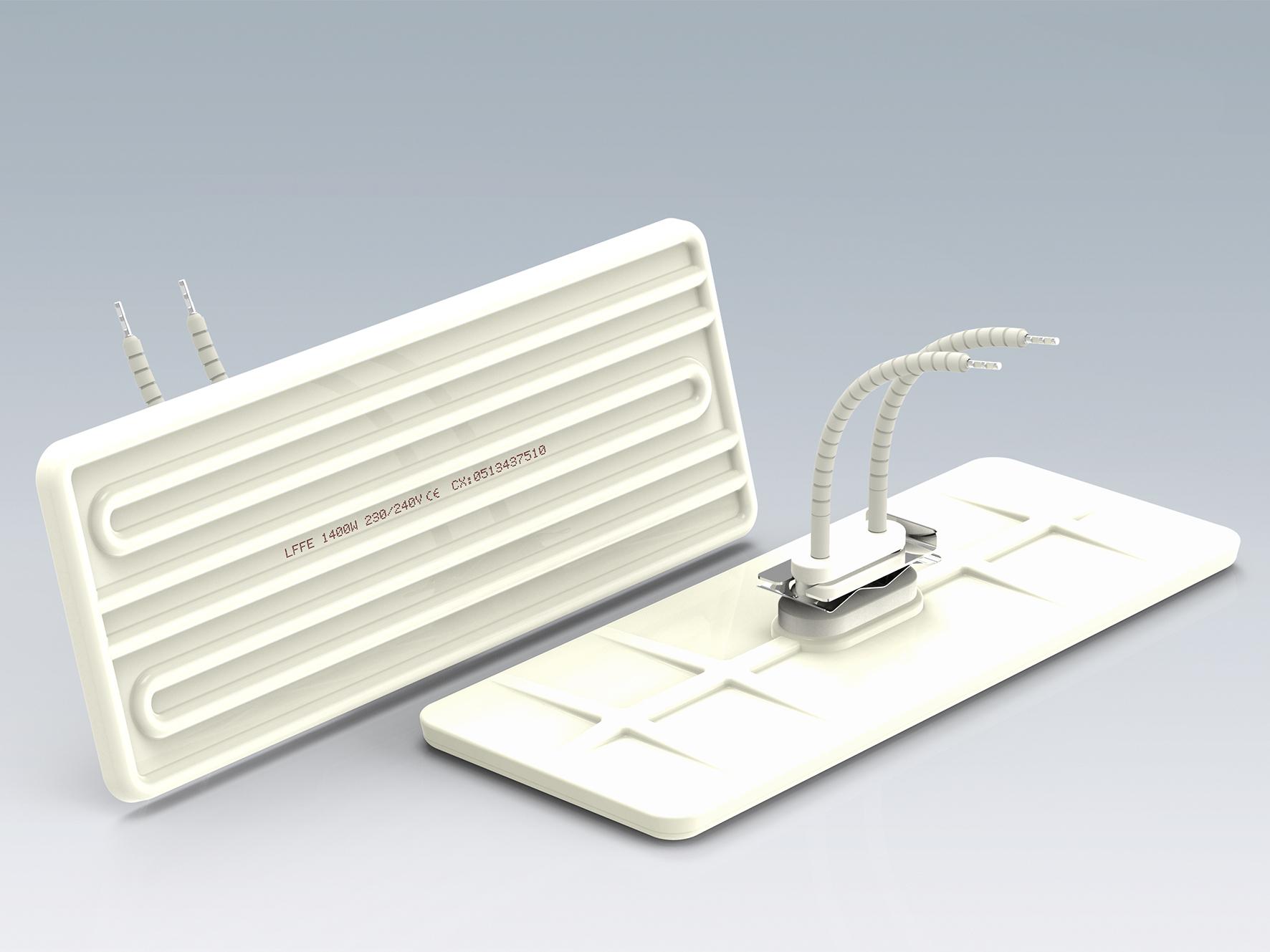LFFE-大型平板红外线陶瓷加热器