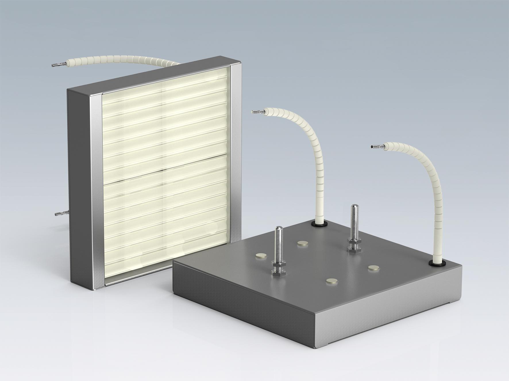SQE-方形石英板红外线加热器