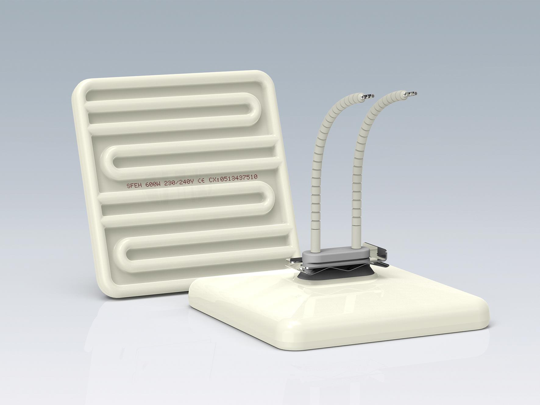 SFEH-方形陶瓷空心红外线加热器