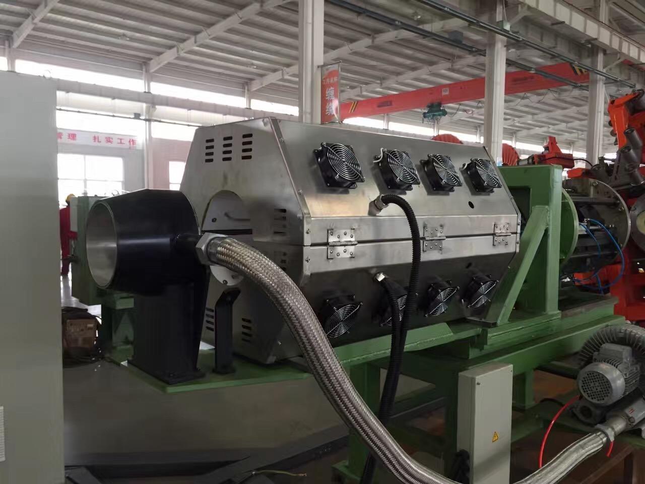 石油管道增强型外表面玻纤粘覆加热系统