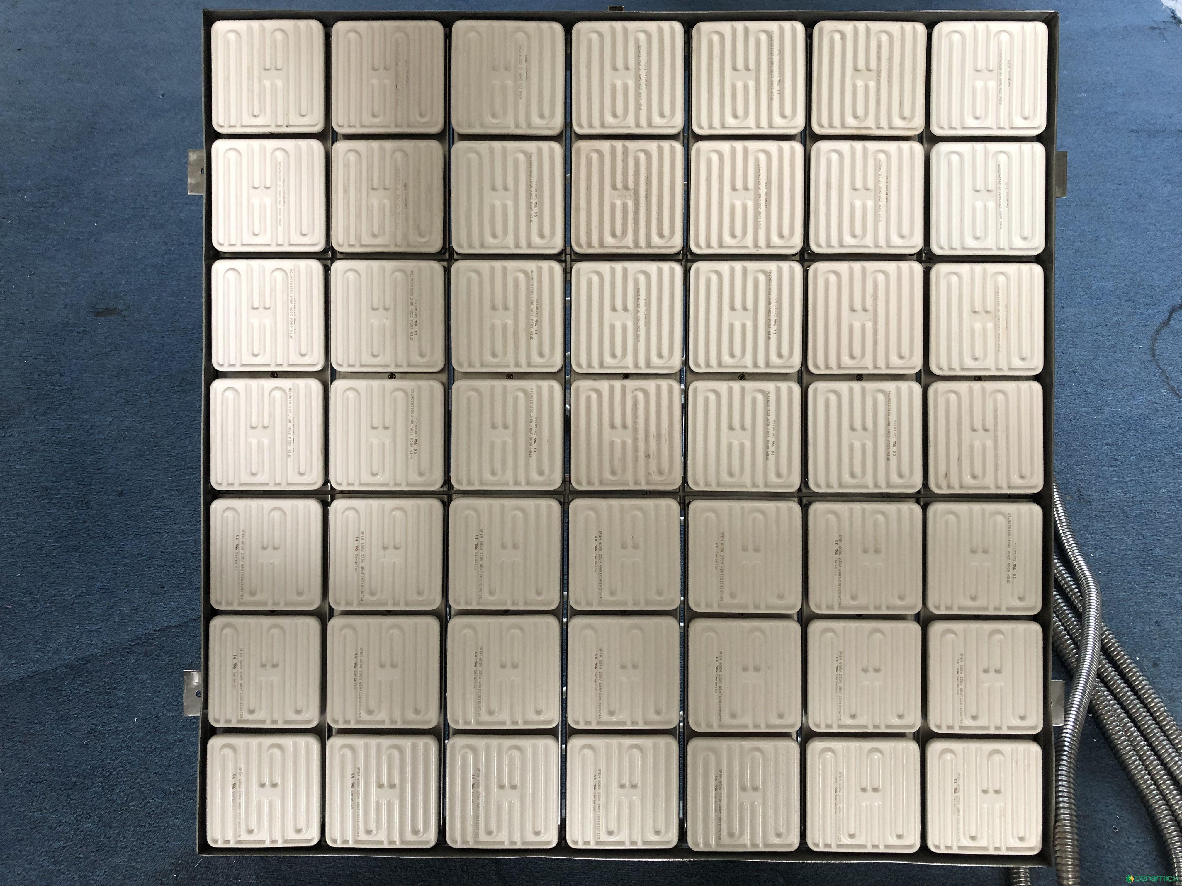 非标陶瓷红外线加热炉-太阳能胶片加热成型加热