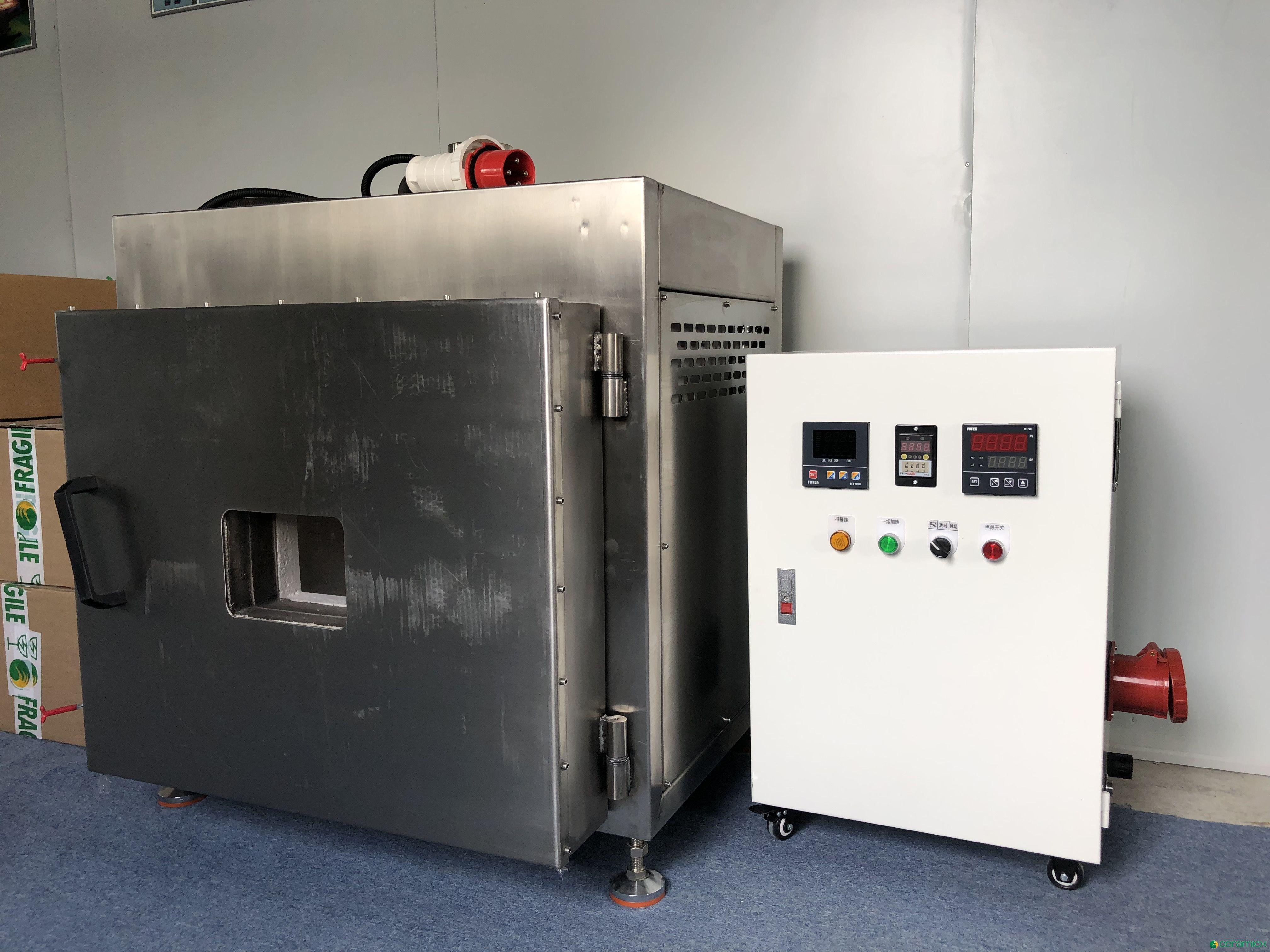 定制800度短波石英管高温红外线加热测试烘箱